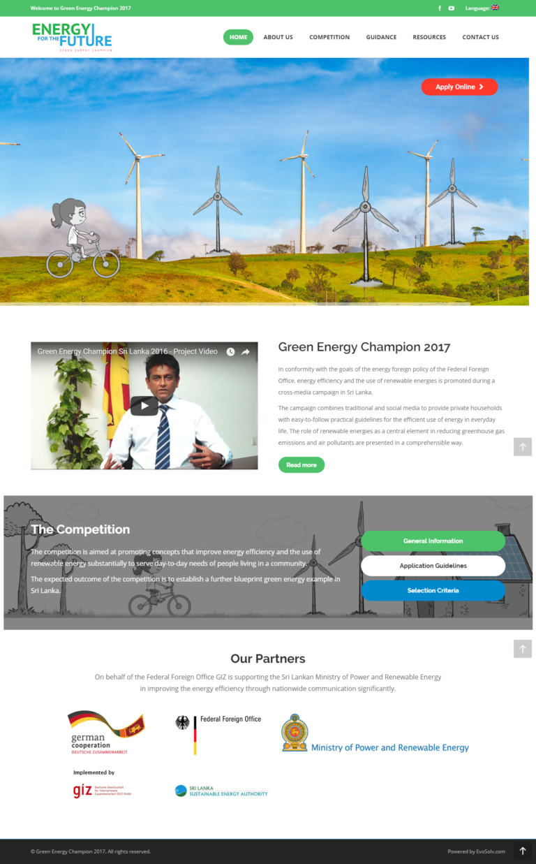 Green Energy Champion